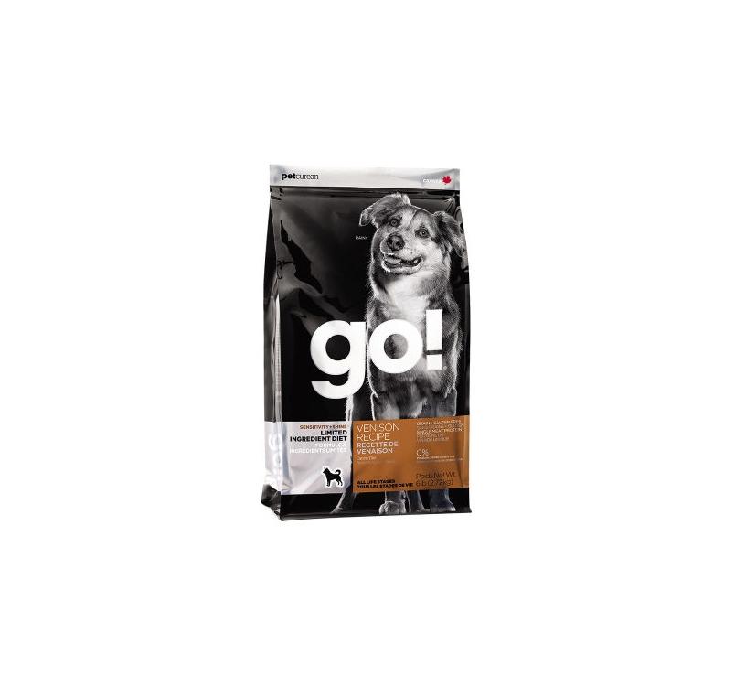 GO! Sensitivity+Shine Limited Ingredient Venison Recipe 11,3kg