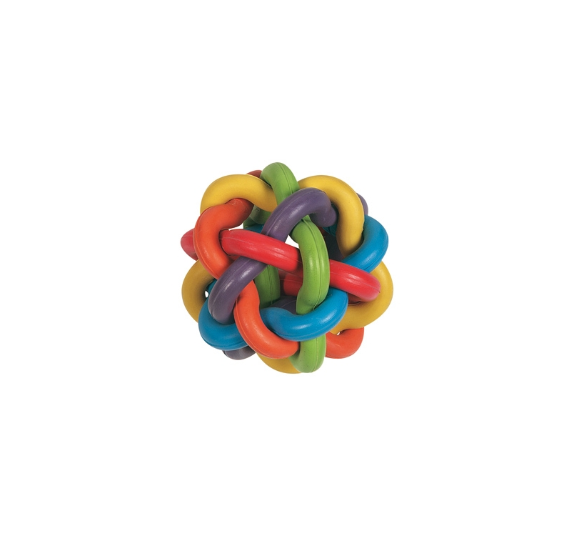 Rubber Ball Colors 10cm
