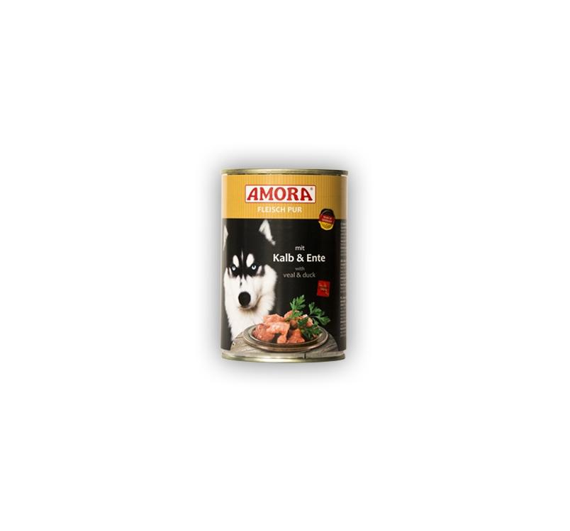 Amora Canned Dog Food (Calf & Duck) 800g