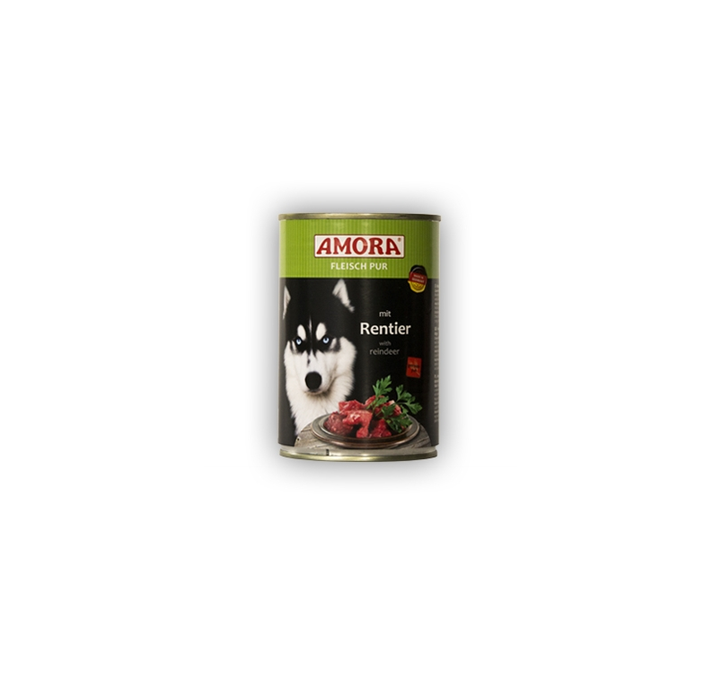 Amora Rentier Koerakonserv (Põdralihaga) 400g