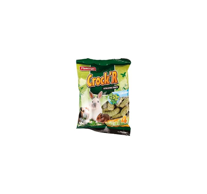 Crock'R Närilistesnäkk Lutserniga 100g