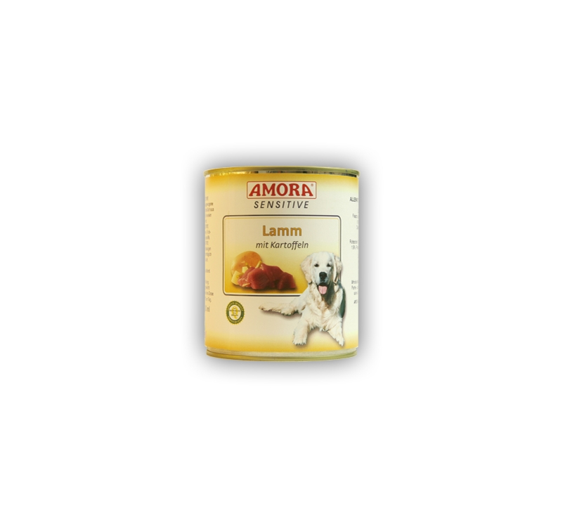 Amora Sensitive Lammas & Kartul Koerakonserv 800g