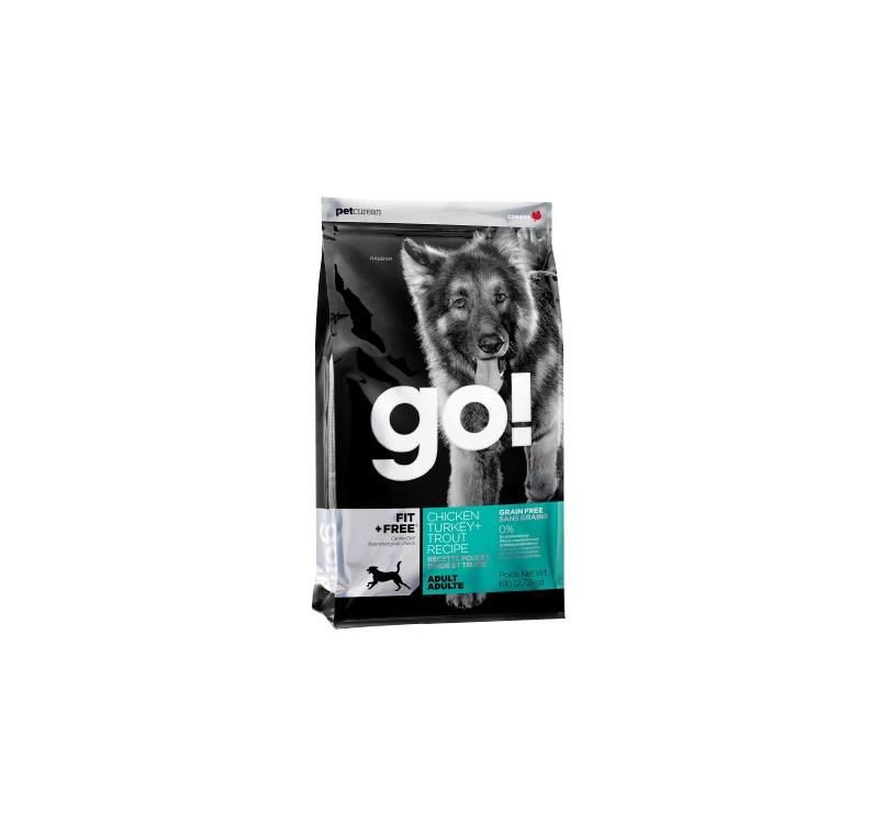 GO! FIT+Free Grain Free Holistic Recipe 2,72kg