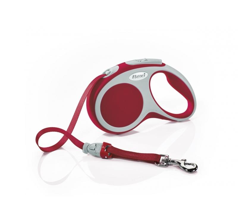 Flexi Vario L Red Tape 5m