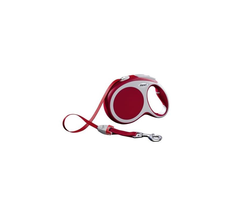 Flexi Vario M Red Tape 5m
