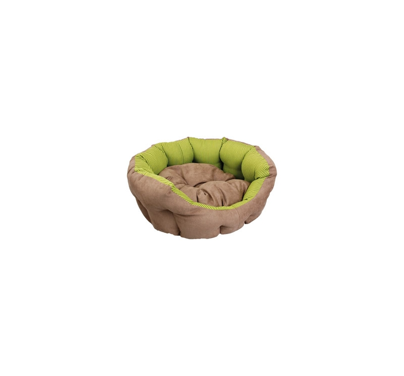 Bed Green/Brown 60x48x20cm
