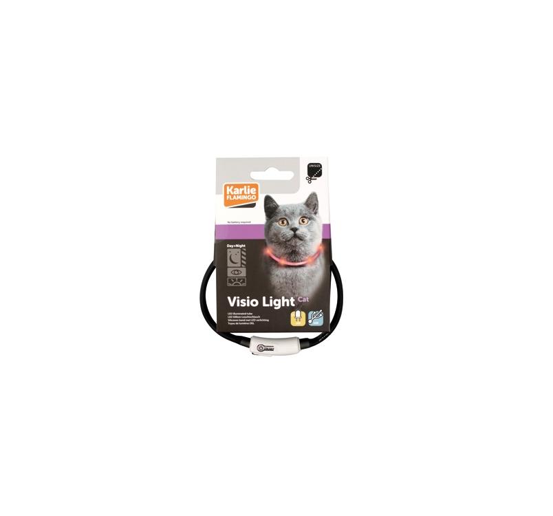LED Collar Visio Light Grey 20-35cm