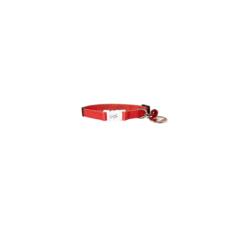 Simon Red Cat Collar