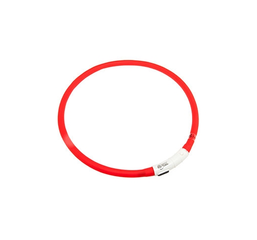 LED Collar Visio Light Red 20-70cm