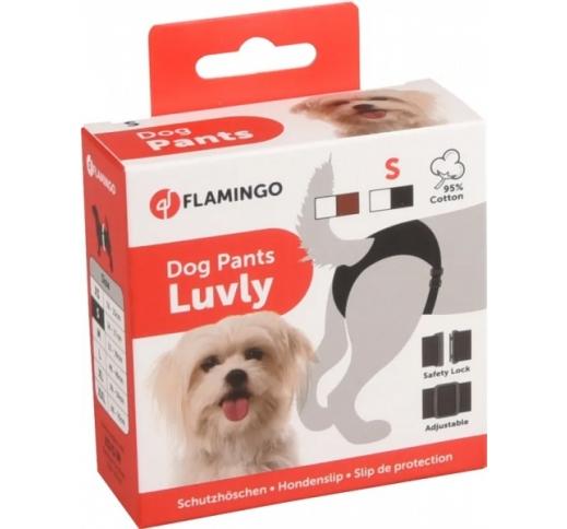 Dog Pants Luvly S Black 24-31cm