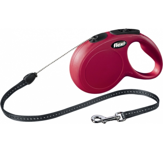 Flexi New Classic M Red 5m Cord