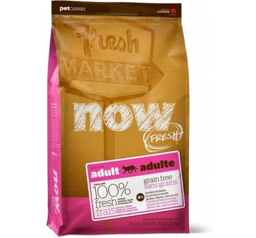 NOW FRESH беззерновой Корм для взрослых кошек с индейкой, уткой и овощами 1,81кг 28/06/2020