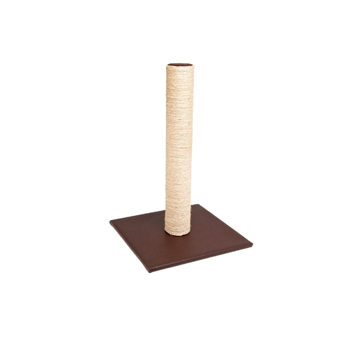 Scratching Pole Lory Skai Brown 38x38x59cm