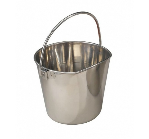 Bucket Stainless Steel with Carabiner 1890ml