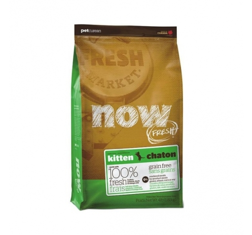 Tester Now Fresh Kitten Grain Free 100g