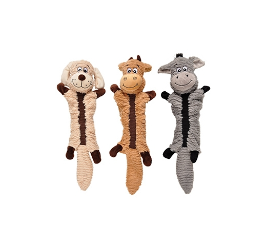 Bungee Dog Toy with Crumpling Sounds 52cm