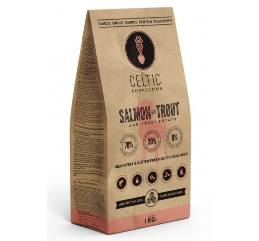 Celtic Connection Salmon & Trout for Dogs 1kg