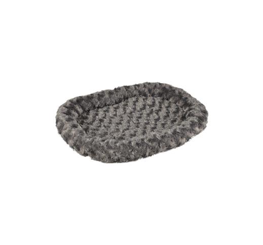 Лежак Cuddly, серый 48x37см