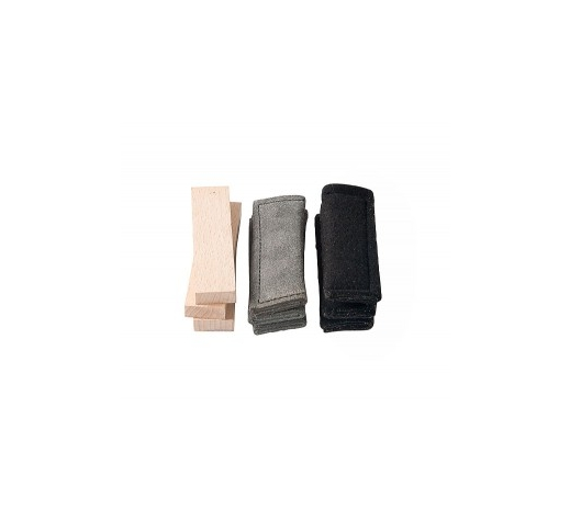 Klin Tracking Items (Leather, Cloth, Wood) 9pcs
