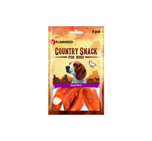 Country Snack Утиное ребро 9шт 120г