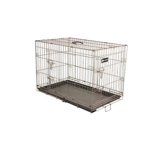 Metal Wire Cage Brown 124x76x83cm