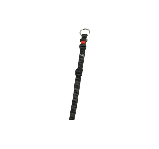 Collar Nylon Black 20-35cm 10mm