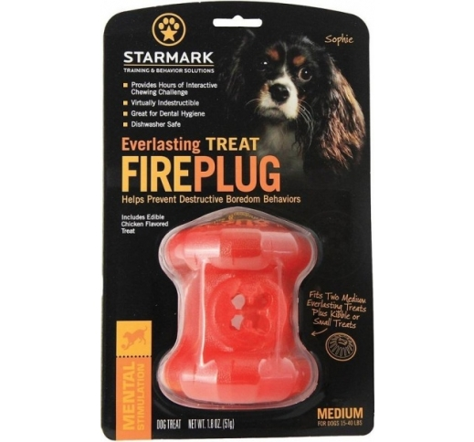 Starmark Everlasting Treat Fireplug M