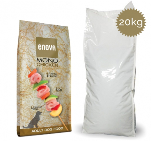 Enova MONO Chicken Complete Dog Food 20kg