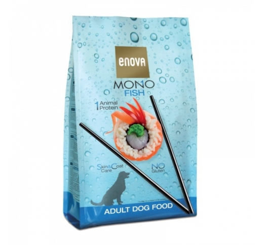 Enova MONO Fish Complete Dog Food 2kg