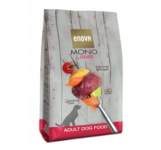 Enova MONO Lamb Complete Dog Food 2kg