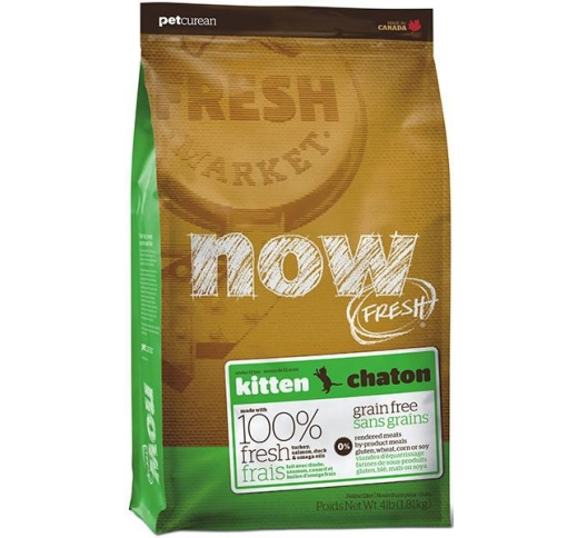 Now Fresh Grainfree for Kittens 1,81kg, BB 04/02/21