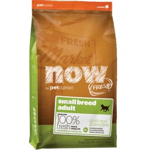 NOW FRESH беззерновой Корм для взрослых собак малых пород, с индейкой, уткой и овощами 2,72кг