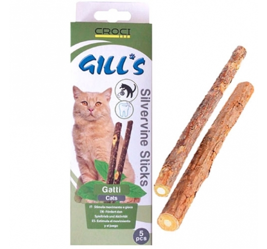 Silverine Sticks for Cats 5pcs