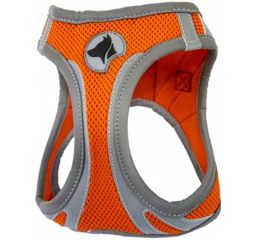 Harness Refelctive Orange M 41-46cm