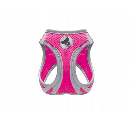 Шлейка светоотражающая, розовый XS