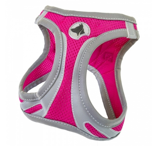 Harness Refelctive Pink L 46-53cm