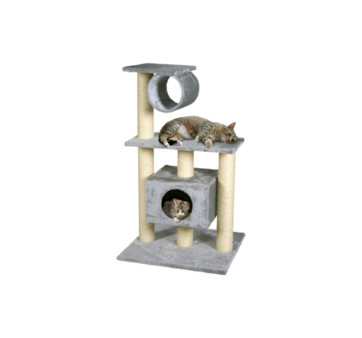 Cat Scratching Pole Teide Grey 60x57x103cm