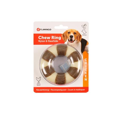 Nylon & Rawhide Ring 10cm