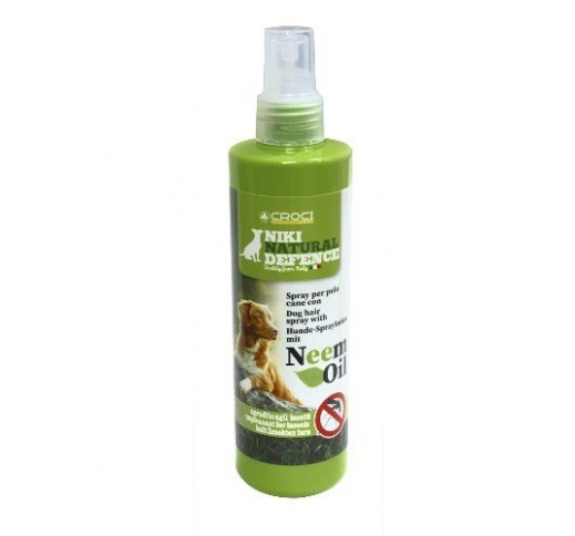 Лосъон–спрей для шерсти собак на ооснове натуралъного масла нима 250мл