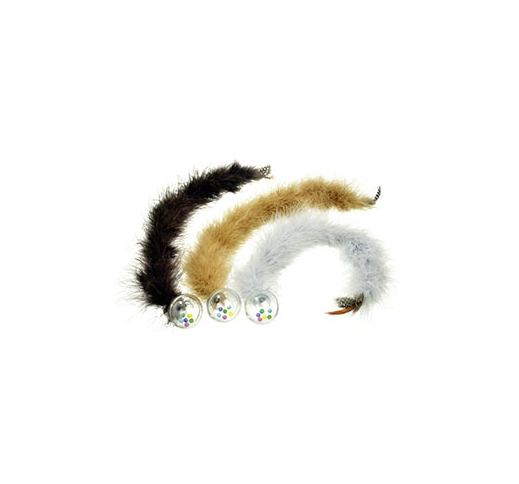 Rattleball with Feathertail 45cm