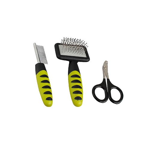 Three Piece grooming Set for Small Animals