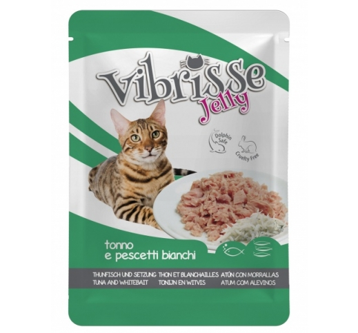 Vibrisse Jelly with Tuna & Whitebait 70g