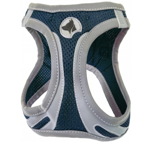 Harness Refelctive Navy XL 53-58cm