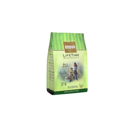 Enova Lifetime Maintenance Adult Dog Food 2kg, BB 23/02/21