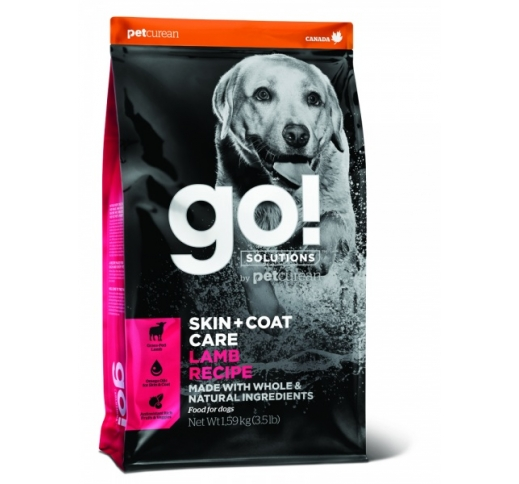 GO! Skin + Coat Lamb Recipe for Dogs & Puppies 1,6kg, BB 20/02/21