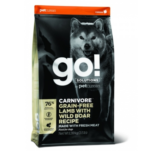 GO! Carnivore Lamb with Wild Boar Recipe for Dogs & Puppies 10kg