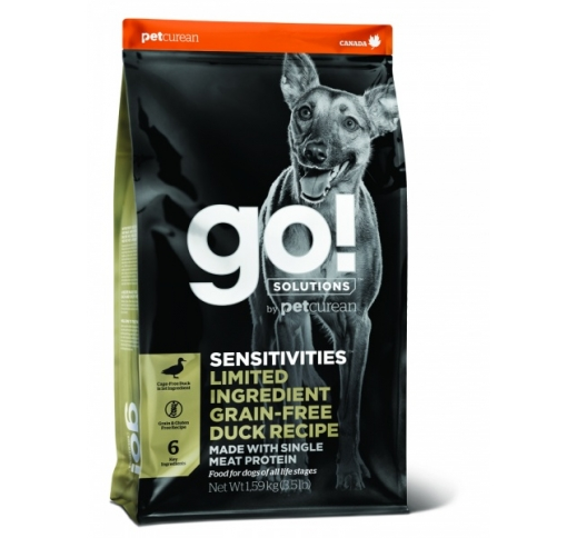 Go! Sensitivities Grain Free Duck Recipe for Dogs & Puppies 10kg