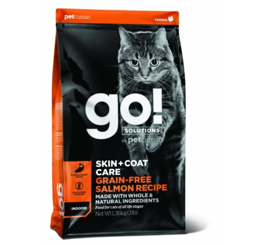 GO! Skin + Coat Salmon Recipe for Cats & Kittens 1,4kg