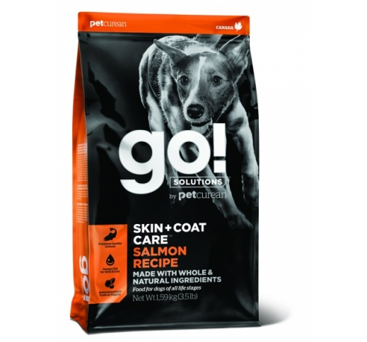 Tester GO! Skin + Coat Salmon Recipe for Dogs & Puppies 100g