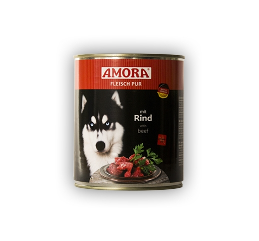 Amora консервы для собак - говядина 400г